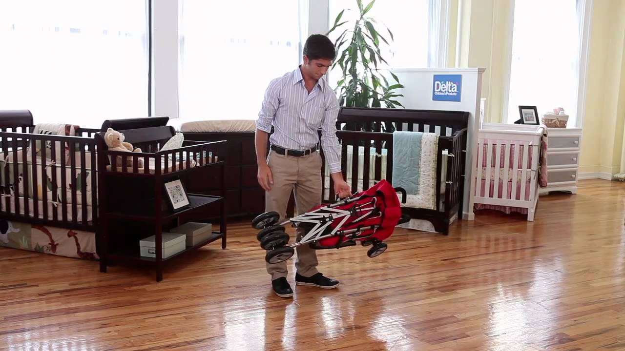 Delta LX Stroller Demostration