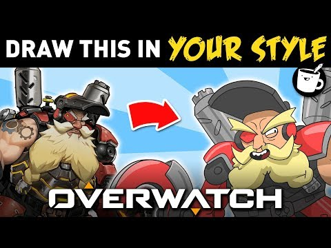 Artists Draw Overwatch Characters In Their Own Style thumbnail