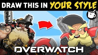 Artists Draw Overwatch Characters In Their Own Style