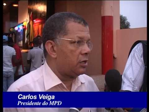 Visita Dr. Carlos Veiga, Presidente do MPD, a Guine-Bissau