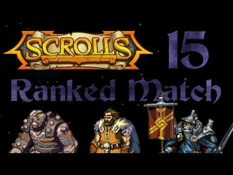 Long trek back to 1st! Scrolls Ranked Match E15 Structure Energy vs. Mono Decay