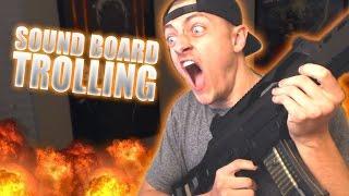 SOUNDBOARD TROLLING on Xbox Live! Elmo, Angry Mom AND Grandma Gets SHOT!