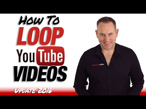 How To Loop A YouTube Video 2016