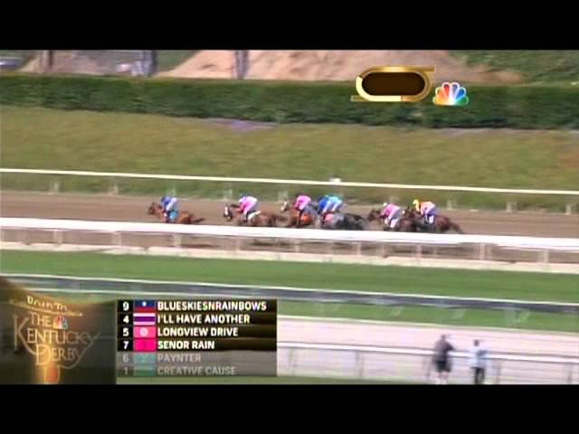 2012 Santa Anita Derby Travel Video