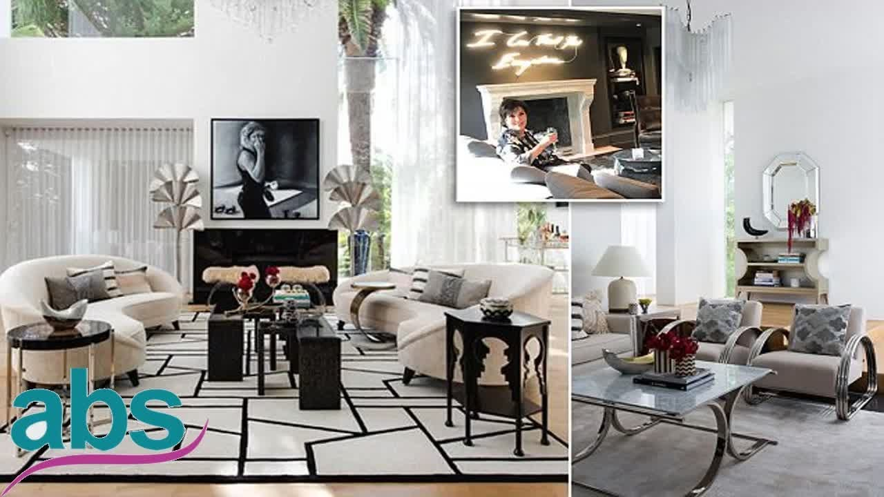 Designer Transforms Living Room To Look Like Kris Jenneru0027s
