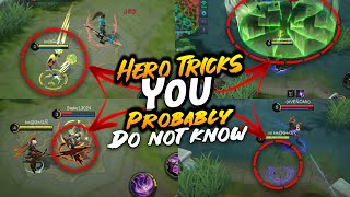 6 Useful Hero Tricks To Make Your Game Easy | Mobile Legends Bang Bang