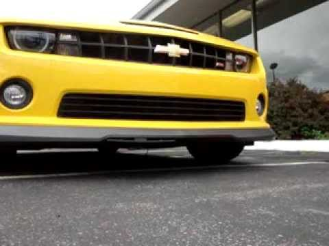 MOTORIZED Hide Away License Plate (Hide The Plate) ON 2011 CAMARO SS