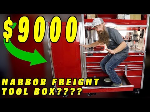Will $9000 Harbor Freight Tool Box Compete With Snap On?