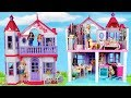 Barbie Doll NEW Dream House Decorating Pink Bathroom, Kitchen and Bedroom
