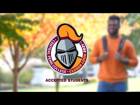 Central Penn College - Take a Closer Look 2021 – Accepted Students