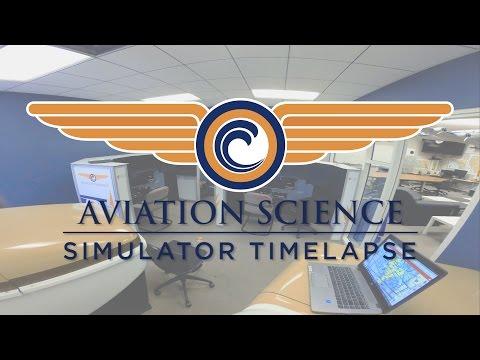 ORANGE COAST COLLEGE AVIATION SCIENCE: Simulator Installation Timelapse