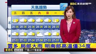 氣象時間 1090714 晚間氣象 東森新聞
