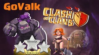 Th9 Valkyrie Attack strategy of Clash of Clans 2017