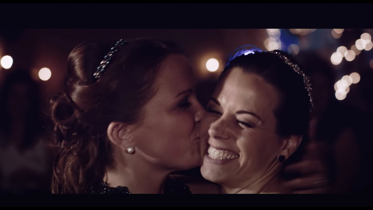Ali  Heather Lesbian Wedding Video  Loft At Landis Creek -1289