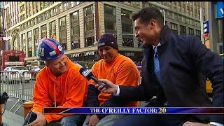 Watters World in Times Square on Election Eve