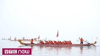 Khai mạc lễ hội bơi chải thuyền rồng Hà Nội   VTC1