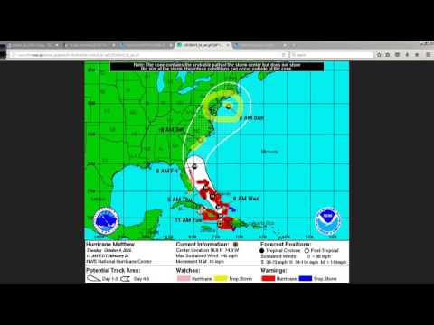 Hurricane Matthew NHC Advisory Discussion: 11:10 AM ET Oct 4