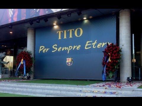 Tito Vilanova death memorial