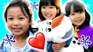 今回の動画はアナ雪2のごっこ遊び!コラボ動画第2弾として『まりちゃんいずちゃん&るんるんママ』さんと『こたみのチャンネル』さんと『た...