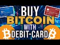 How To Buy Bitcoin With Debit Card (Cheap/Low Fees) - YouTube