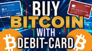 How To Buy Bitcoin With Debit Card (Cheap/Low Fees)