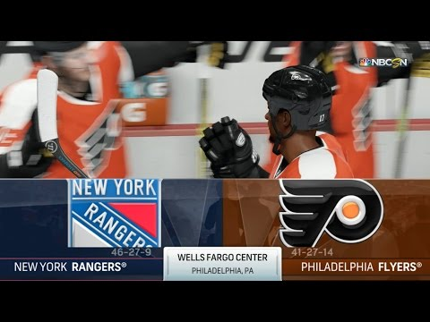NHL 17 Requests - New York Rangers vs. Philadelphia Flyers