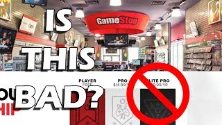 Is It A Bad Thing That The Gamestop Elite Pro Card Is Gone?