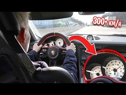 TOP SPEED CHALLENGE IN PORSCHE GT3RS *AUTOBAHN*