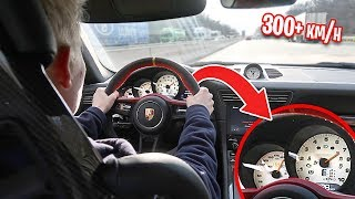 TOP SPEED CHALLENGE IN PORSCHE GT3RS *AUTOBAHN*