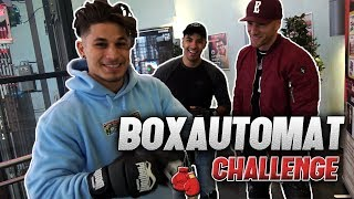 BOXAUTOMAT CHALLENGE vs. MMA FIGHTER l Yavi TV