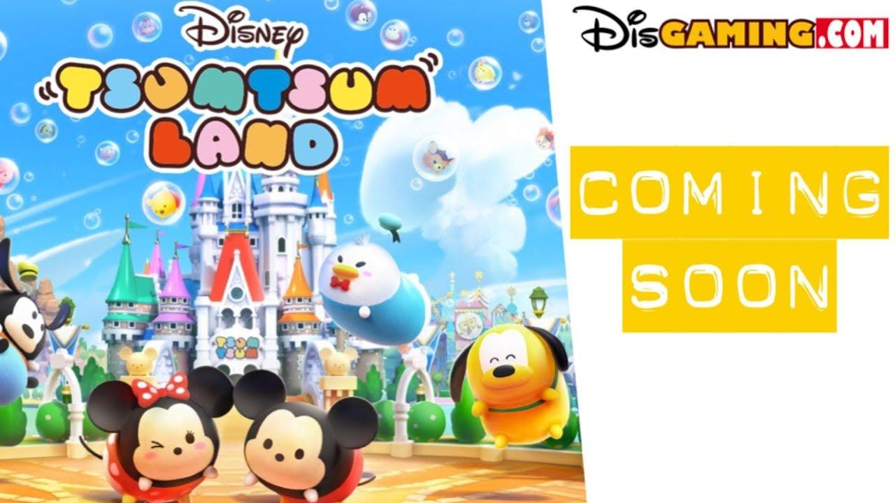New Disney Tsum Tsum Land Game Coming Soon - YouTube