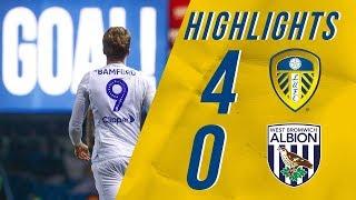 Highlights   Leeds United 4-0 West Brom   EFL Championship