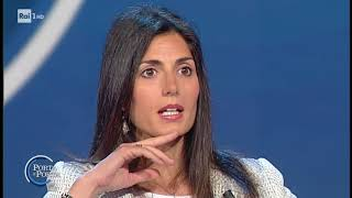 Virginia Raggi a Porta a Porta (INTEGRALE) 15/6/2018
