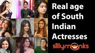 South Indian Actresses Real Age | Silly Monks Malayalam | Celebrity Updates | Silly Monks