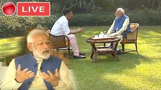 MODI LIVE : PM Modi In Conversation With Akshay Kumar | NarendraModi Interview| YOYO TV Kannada Live