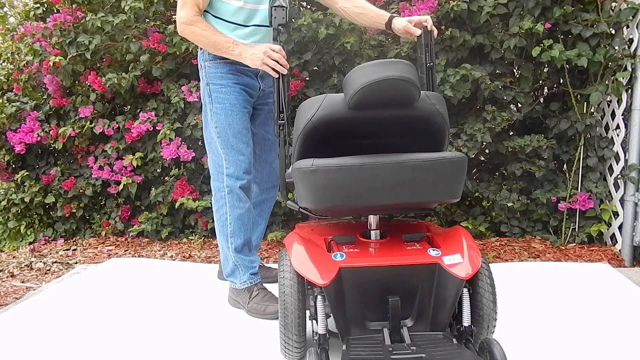 Jazzy Select HD Heavy Duty Power Chair