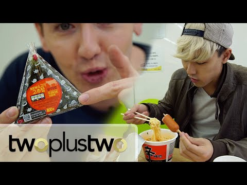Korean Convenience Store Gourmet Food Challenge