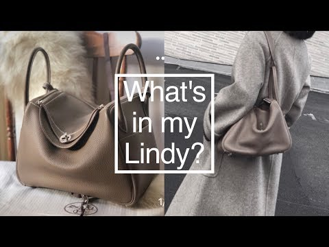 What's in my bag|宝藏级减压神器|随身小物养成好气色| 离不开的幸福感小物清单 | Hermes Lindy Review