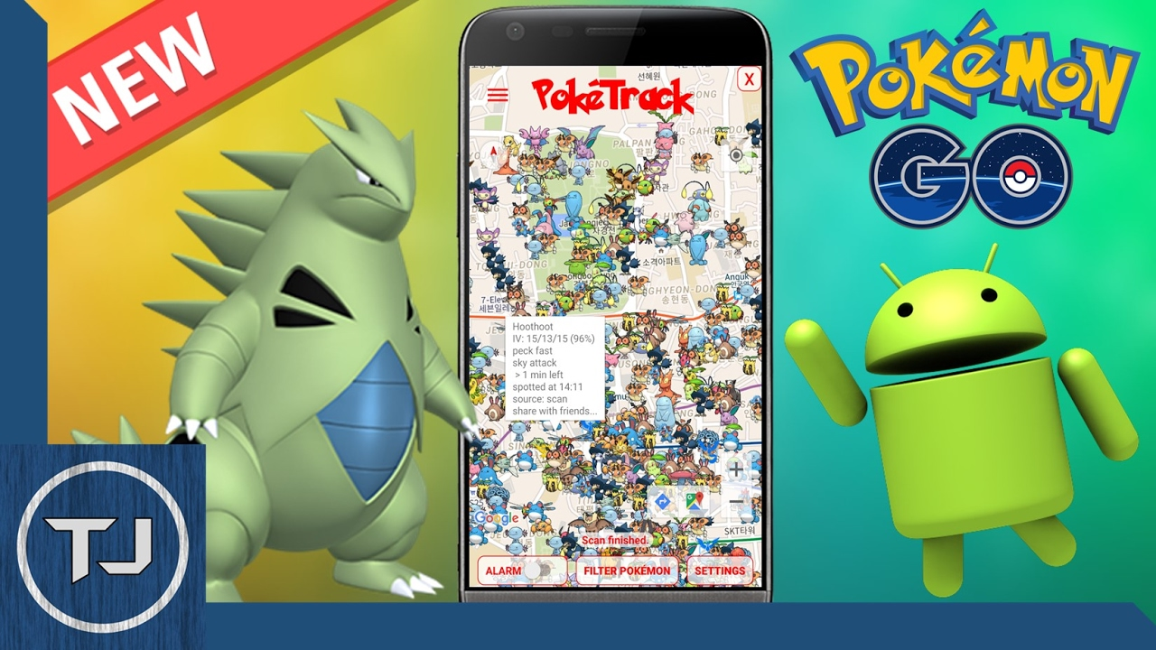 Pokemon GO Gen 2 Tracker For Android! (APK DOWNLOAD)
