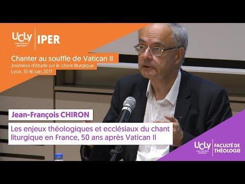Les enjeux théologiques et ecclésiaux du chant liturgique | Jean-François Chiron