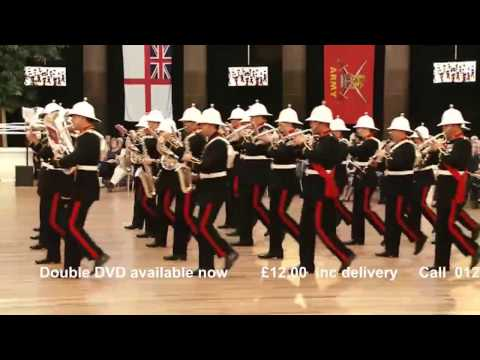 Buxton Military Tattoo 2016 - HM Royal Marines Band - Captain General