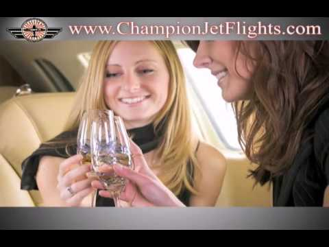 Private Jet - Jet Charters - Private Flights - Champion Jets