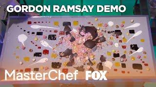 Gordon & Grant Achatz Demonstrate A Signature Frozen Pumpkin Pie | Season 10 Ep. 18 | MASTERCHEF