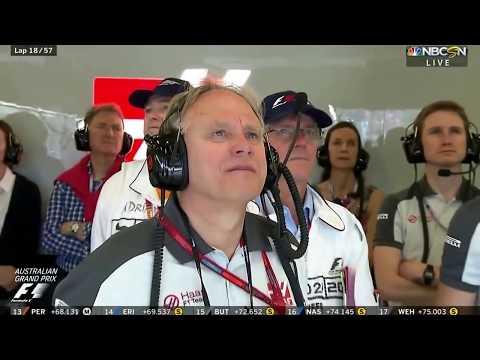 F1 Australian Grand Prix 2016 Fernando Alonso Gutierrez Horrible Crash