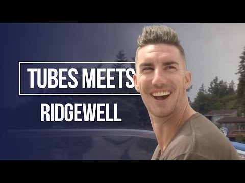 Learning the 'Ridgey' roll 😂 | Tubes Meets Liam Ridgewell