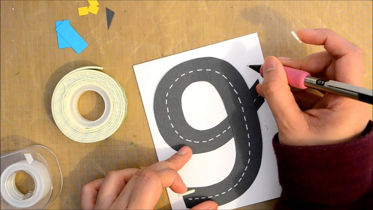 Birthday Card Ideas For Children To Make Part - 38: A Birthday Card For Little Boys - YouTube