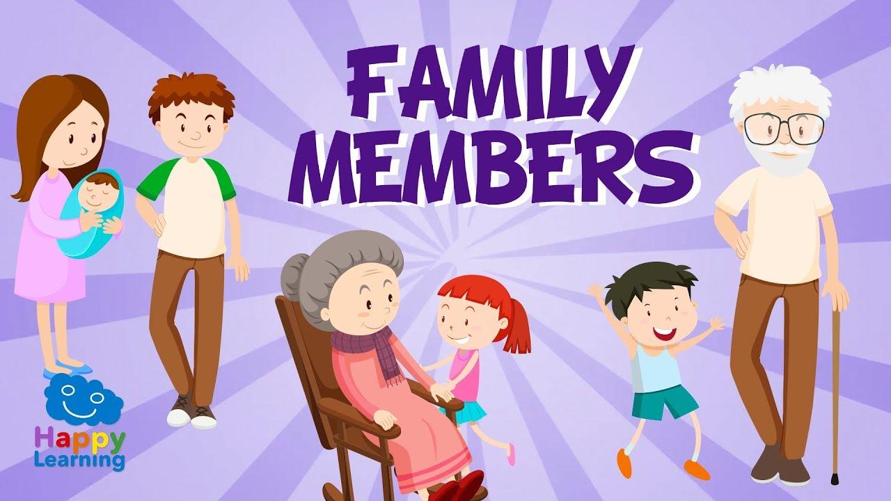 Miembros De La Familia En Inglés Vídeos Educativos Para Niños Aprende Inglés