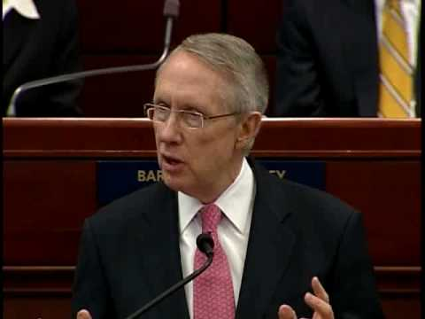 Reid Addresses Joint Session Of Nevada Legislature