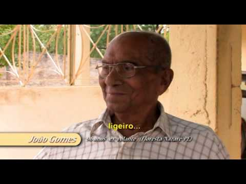 Xaxado   A dança de cabra macho   Entrevista com Seu João Gomes