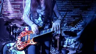 Соло Сергея Маврина  в рок баре Подвал (Самара)